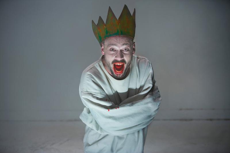 David Geysen in Hamlet van De Appel (bron: facebook.com/deappel)