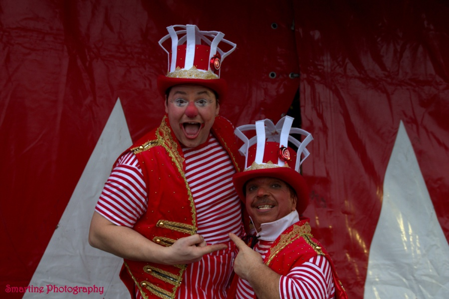 Clowns Mischa en Milko. Smartine Photography