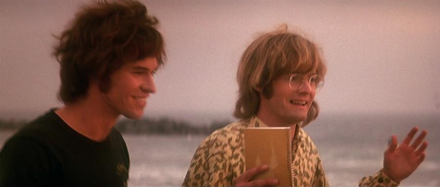 Jim en toetsenist Ray Manzarek willen een band oprichten. Bron: screenmusings.org