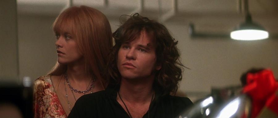 Jim en Pam in de kleedkamer van de Ed Sullivan Show. Bron: screenmusings.org