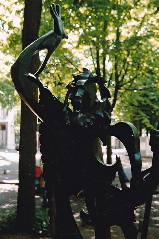 Le Prophète van Gargallo was twee keer te zien, in 1998 en 2000