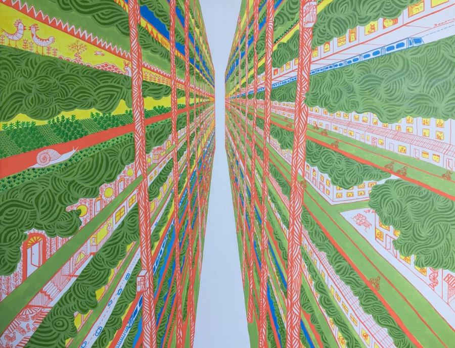 Beatriz Chamussy 2017 - Vertical Garden