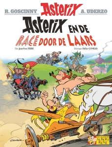 Asterix en de race door de laars (bron: Asterix.com) beeld boven: bron Cartoon-clipart.co