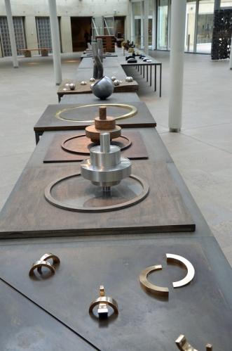 Opstelling in Museum Beelden aan Zee (foto auteur)