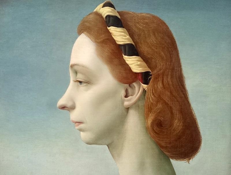 Portret van mevr. J.C. barones van Boetzelaer (detail)