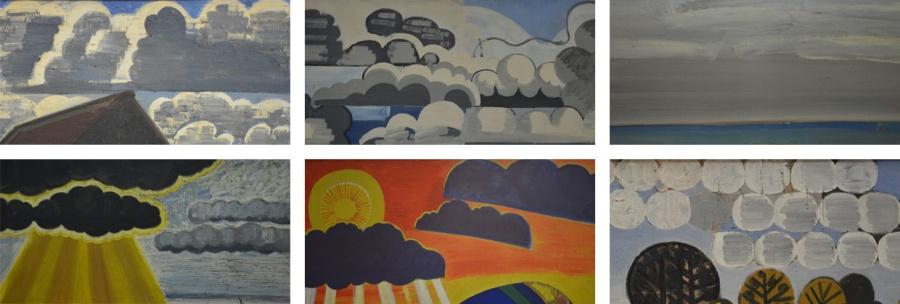 Wolkenluchten volgens Brusselmans