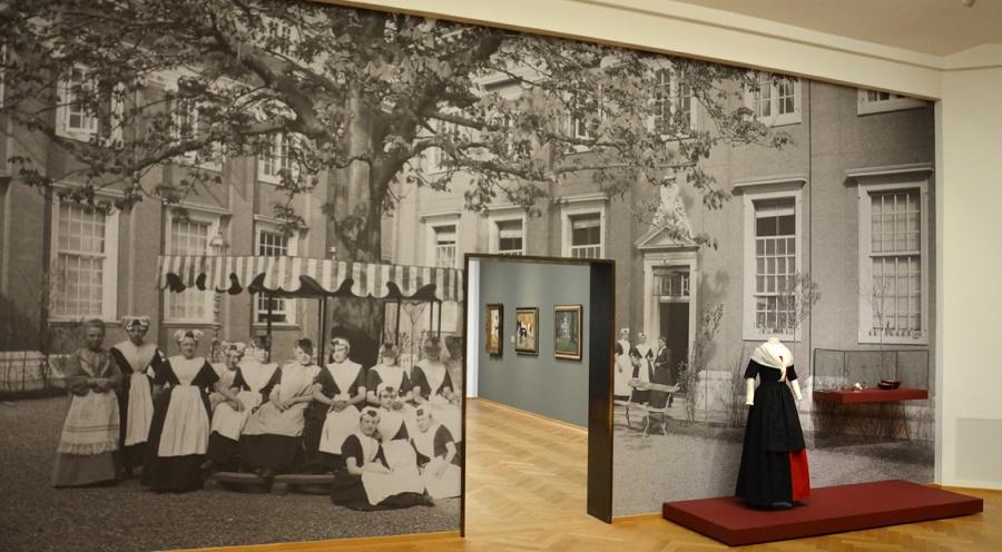 Opstelling in de tentoonstelling (foto Frans van Hilten)