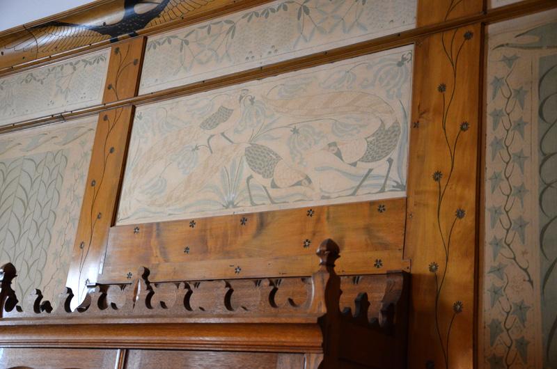 De Dijsselhofkamer brengt de natuur, oriëntalisme en ambachtelijkheid samen en is altijd in het museum te zien