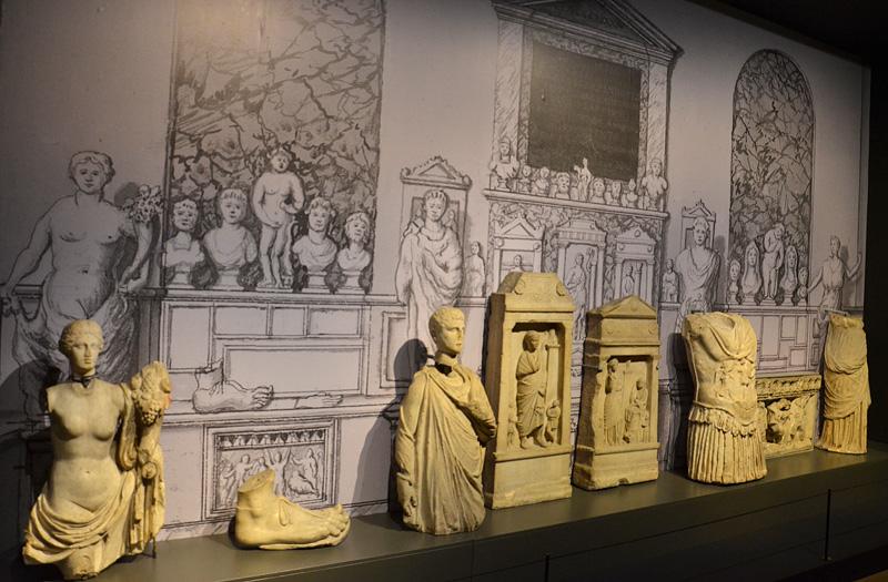 Reconstructie van collectie Van Papenbroek in de Leidse Hortus (foto auteur)