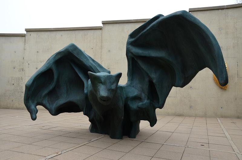 De vleermuis, 2015-2018 (foto's auteur)