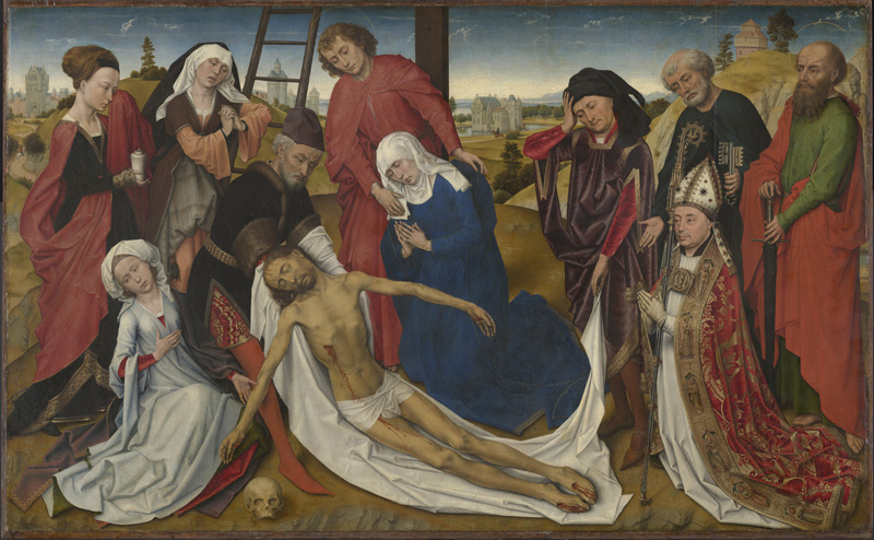 De bewening van Christus voor de restauratie (beeld Mauritshuis)