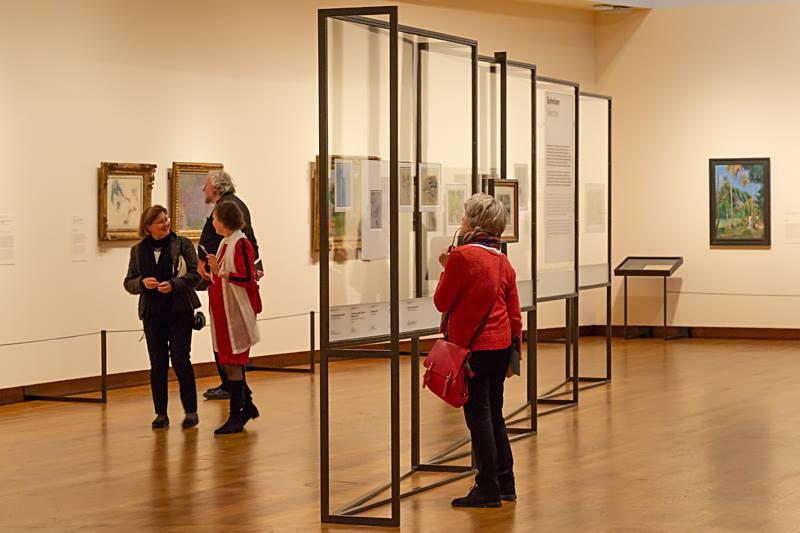 Impressie van de tentoonstelling (foto auteur)