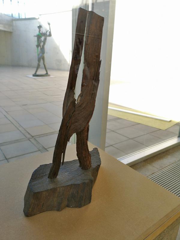 Brandhoutje (voorgrond) diende als inspiratie voor Orpheus (achtergrond) Foto auteur