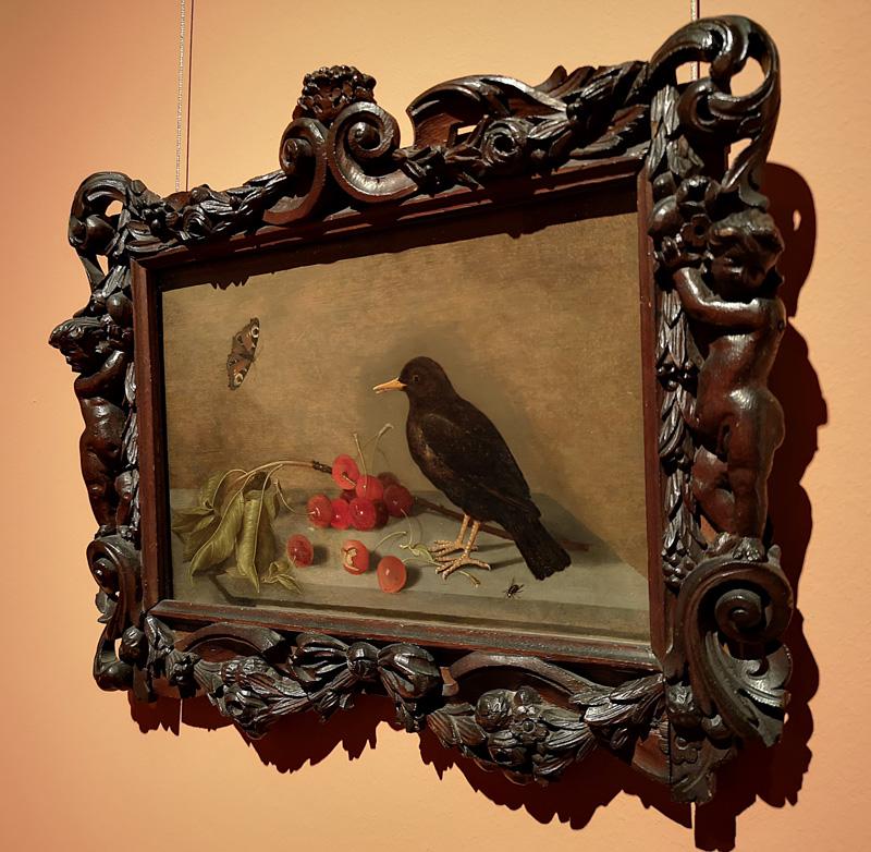 Bijzondere lijst om schilderij van Bosschaert de Jonge