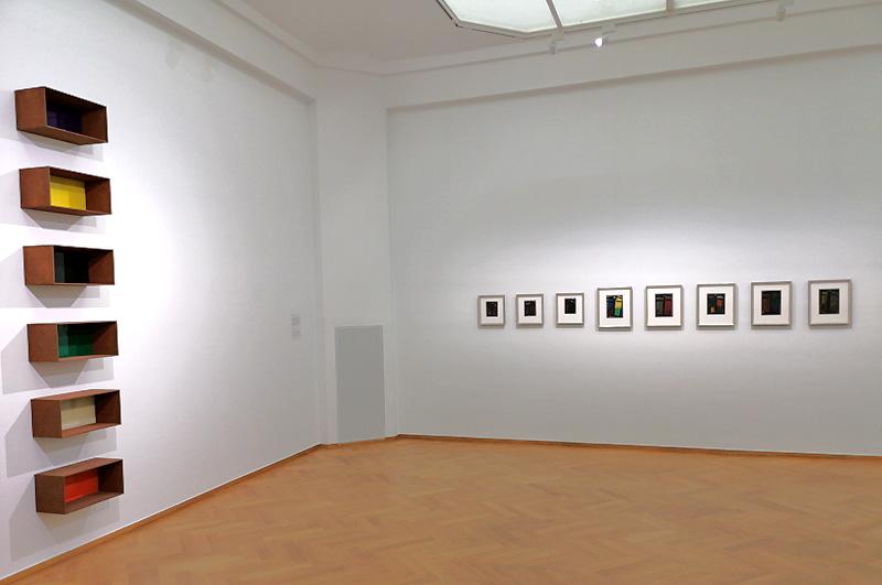 Werk van Donald Judd en Alexej von Jawlensky (foto auteur)