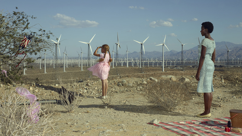 Erwin Olaf, Palm Springs, The Kite, 2018. © Erwin Olaf. Courtesy Flatland Gallery