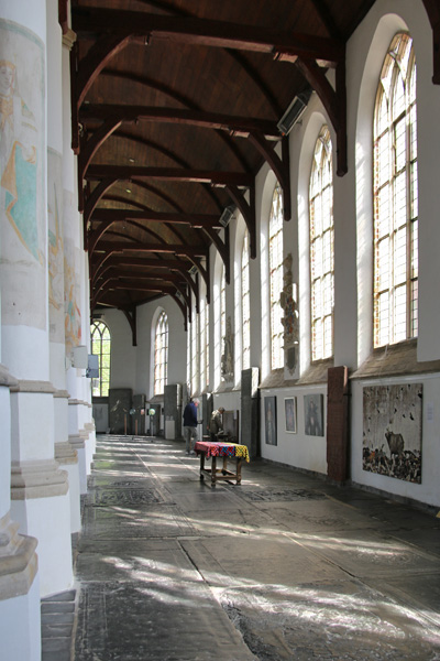 Kunst in het interieur van de Martinikerk
