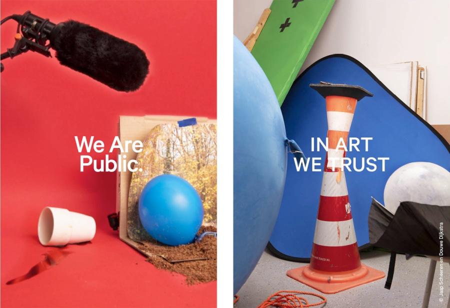 Campagnebeeld In Art We Trust Fund en We Are Public