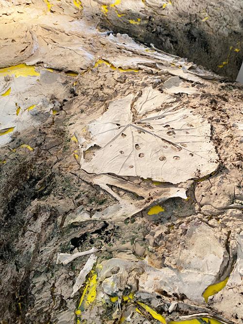 Detail van VanitasFlora (foto Nynke Koster)